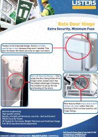 Roto Door Hinge