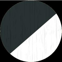 Anthracite Grain & White Grain