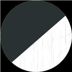 Anthracite Smooth & White Grain