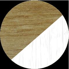 Irish Oak & White Grain